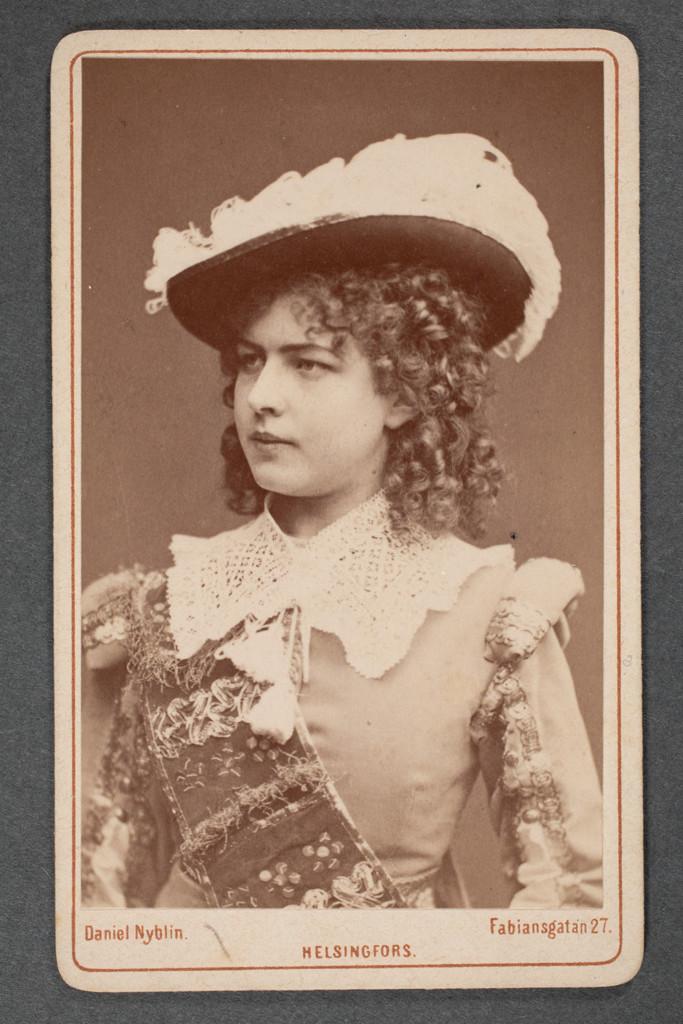 Fanny Grahn rooliasussa.