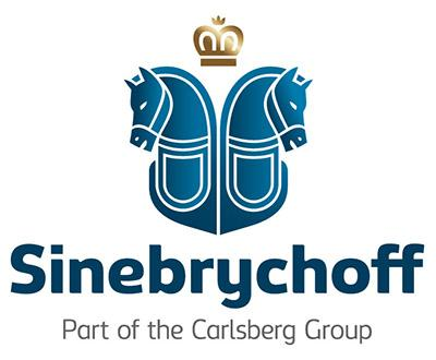 The logo of the Sinebrychoff Brewery. Sinebrychoff – Part of the Carlsberg Group.